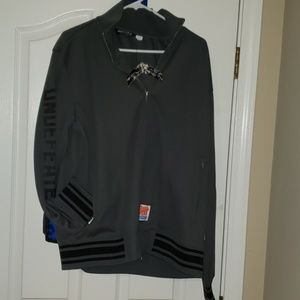 Undefeated Fighting Champions Track Jacket nwt